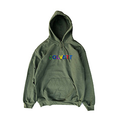 COLOR GANG LOGO HOODIE (マルチカラーロゴパーカー) Olive
